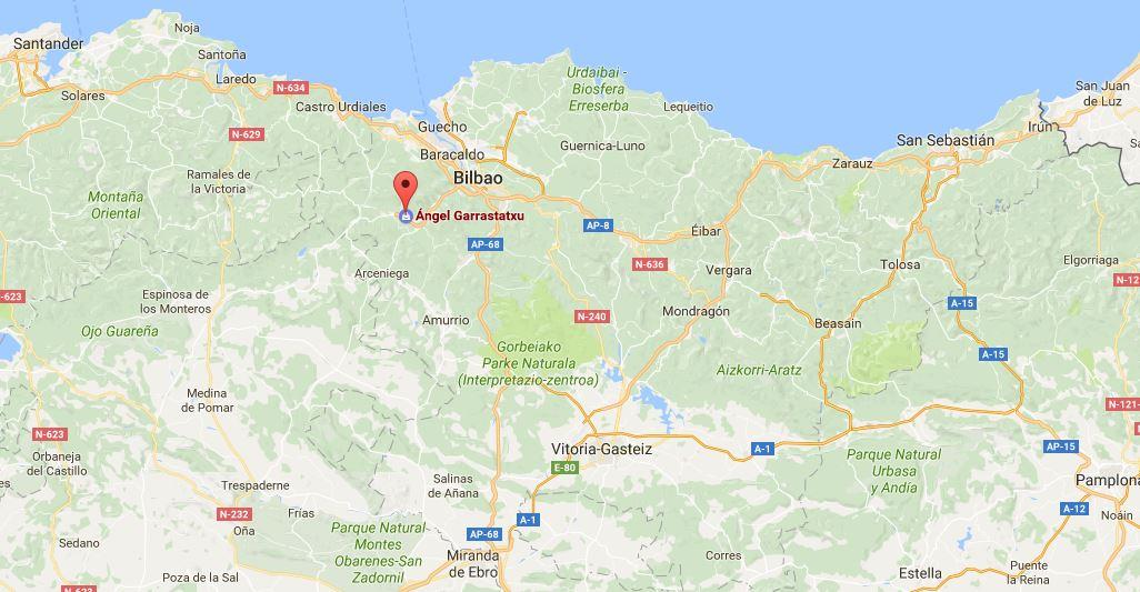 Mapa Garrastatxu